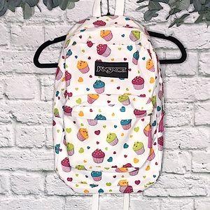 Rare JANSPORT Cupcake Backpack